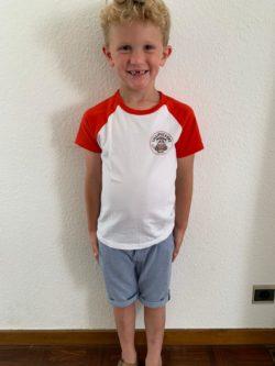 t-shirt Kids Logo Lillipuckers Rood 5