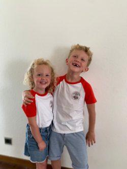 t-shirt Kids Logo Lillipuckers Rood 4