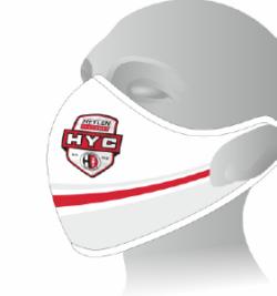 HYC Masker Wit Logo