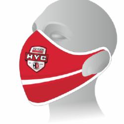 HYC Masker Rood met Logo
